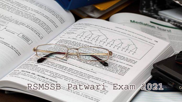 RSMSSB Patwari Exam 2021