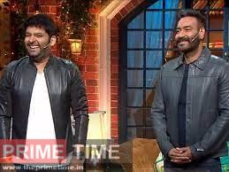 Ajay Devgan and Kapil Sharma