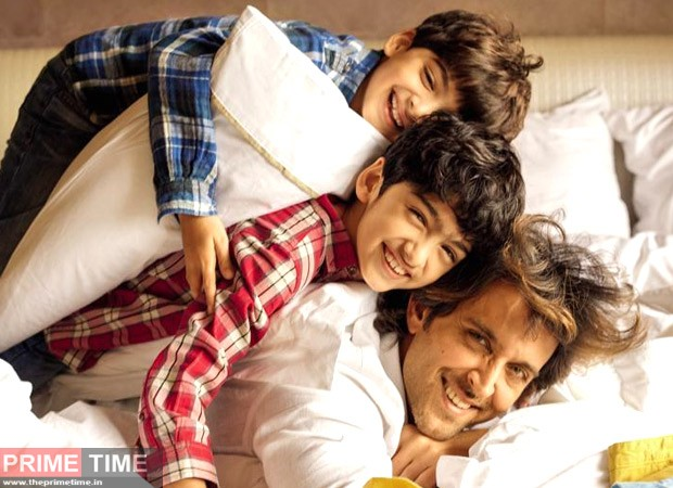 Hrithik with his sons