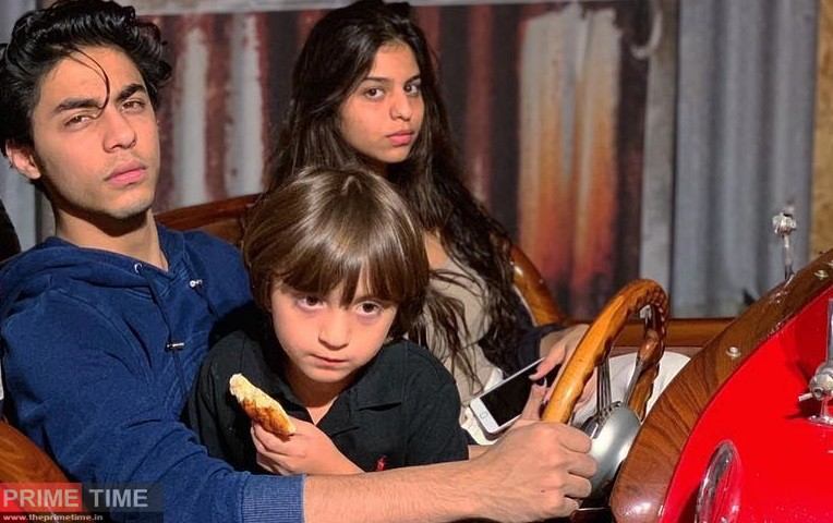 Aryan Khan with his Siblings