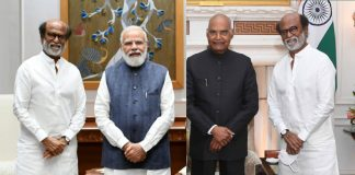 Rajnkanth-with-PM-and-Presi